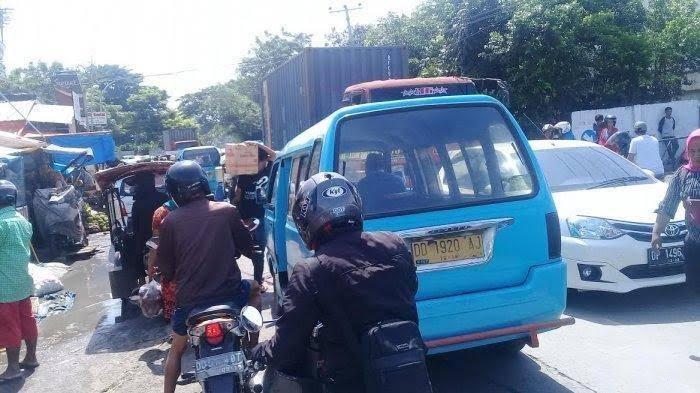 Biang Macet, Pedagang Pasar Pannampu yang Gunakan Fasum Bakal Ditertibkan