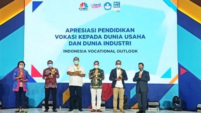 Dukung Pengembangan Pendidikan Vokasi, Yamaha Sabet Penghargaan dari Kemendikbud RI