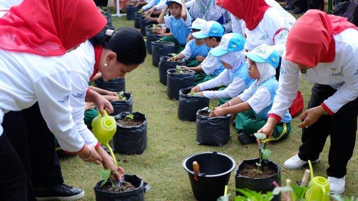 Kementan dan OASE Ajak Anak Mengenal Pertanian Sejak Dini