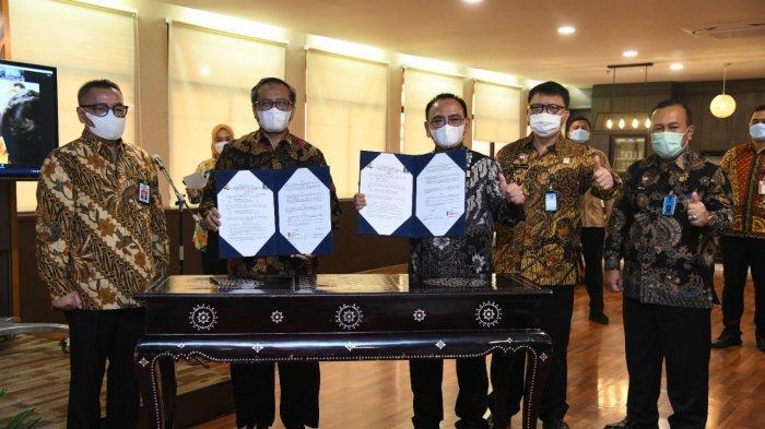 Kemenkumham Terima BMN Berupa Rumah Pegawai dari Kementerian PUPR