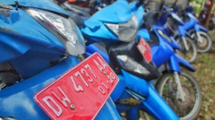10 Kendaraan Dinas Milik Pengendalian Penduduk dan Keluarga Bencana Bone Ditarik