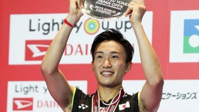 Kento Momota Kalahkan Tommy Sugiarto di China Open 2019, Ini Profilnya