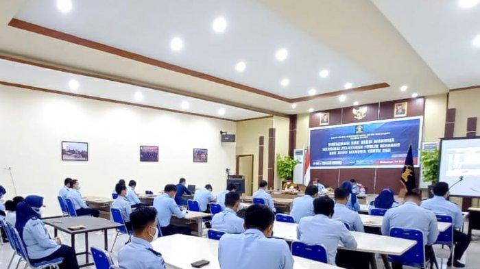 Tingkatkan Pelayanan Publik, Kemenkumham Sulsel Gelar Desiminasi Berbasis HAM