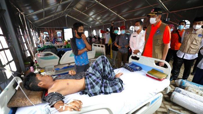 Kepala BNPB Serahkan Rp 4 Miliar untuk Rumah Sakit Darurat Lapangan di Mamuju