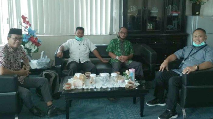 Kacab Bank BTN Cabang Makassar Teguh Wahyudi Betemu Forum Pengembang Wajo