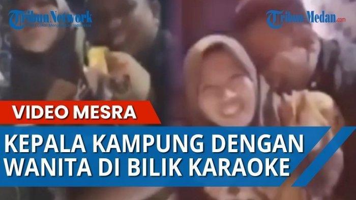 VIRAL Video Pak Desa Peluk Mesra Istri Pak Dusun saat Berduaan di Ruang Karaoke, Wanita Sumringah