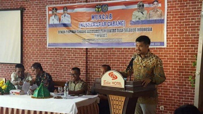 Arfan Basmin Jadi Ketua Apdesi Luwu, Segini Perolehan Suaranya saat Pilkades