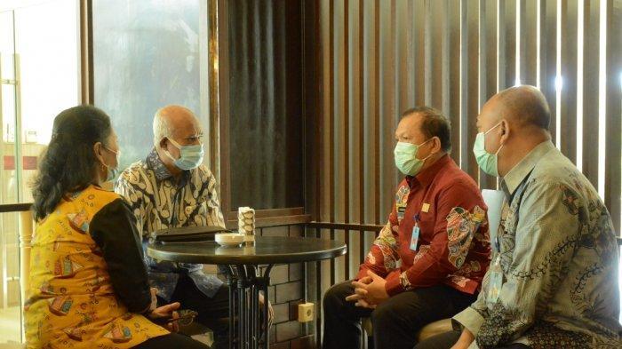 Kakanwil Kemenkumham Sulsel Temui Kakanreg BKN IV Makassar