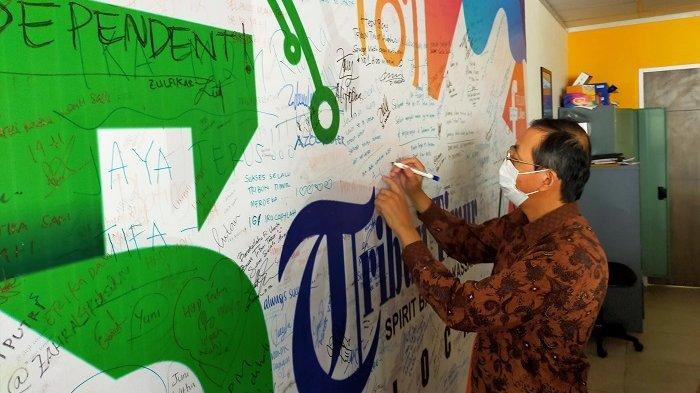 Sebulan di Makassar, Yasue Katsunobu Doyan Pisang Epe dan Jalangkote