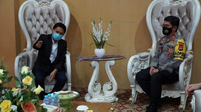 Dikunjungi Kapolda Sulsel, Prof Hamdan: Di UIN Alauddin Ada Pancasila dan Pancacita
