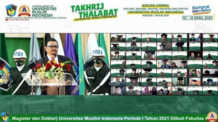 Kepala LLDikti Prof Jasruddin Sebut Alumni UMI Mudah Terserap di Dunia Kerja