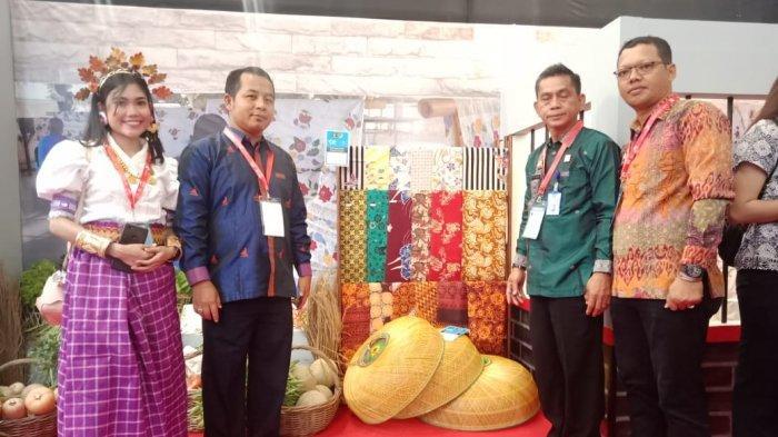 Karya Napi Rutan Majene dan Lapas Polewali Tampil di Trade Expo Indonesia 2019