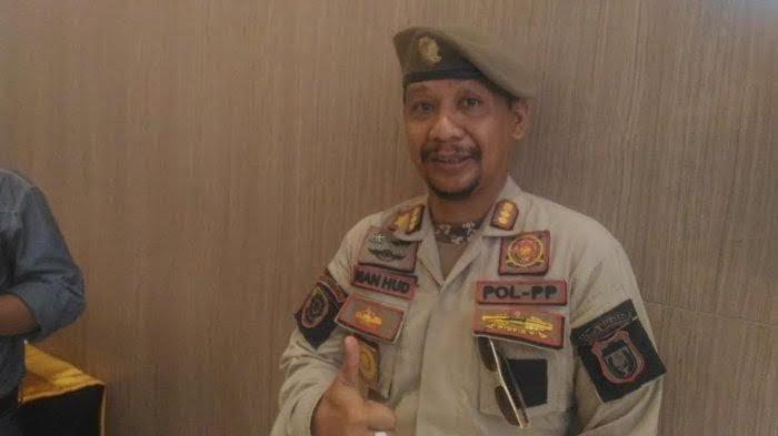 Kasatpol PP Makassar Iman Hud dan Istri Positif Covid-19, Ini yang Dilakukan?