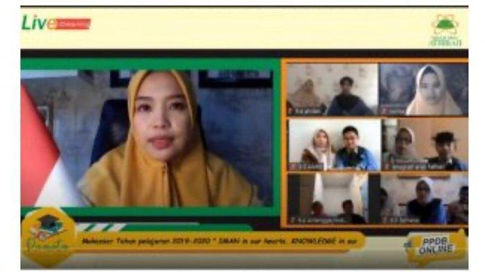 Tak Bisa Memeluk, Pesan Kepsek SMP Islam Athirah Ini Mengharukan Saat Menamatkan Siswanya