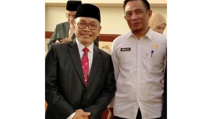 Kepala Unit Pelatihan Kesehatan Sulsel Beri Selamat kepada M Ichsan Mustari