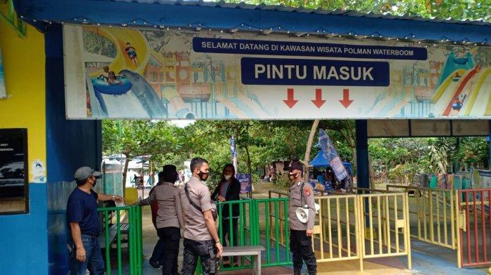 Tidak Terapkan Prokes, Polisi Tegur Pengelola Polman Waterboom