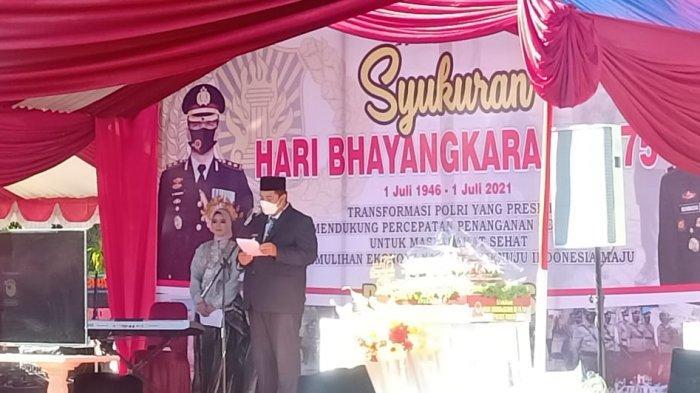HUT ke-75 Bhayangkara, Polres Maros Resmikan 3 Gedung Baru