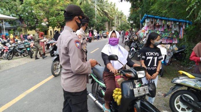 Tak Pakai Masker di Selayar 'Berurusan' dengan Polisi