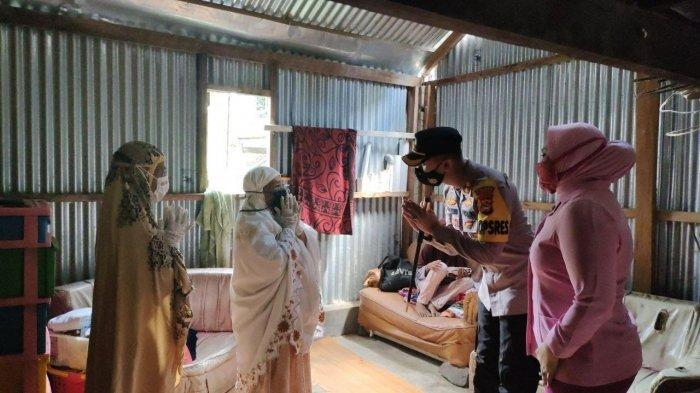 Kapolres Enrekang Beri Bantuan Program EPC Bagi Warga Kurang Mampu