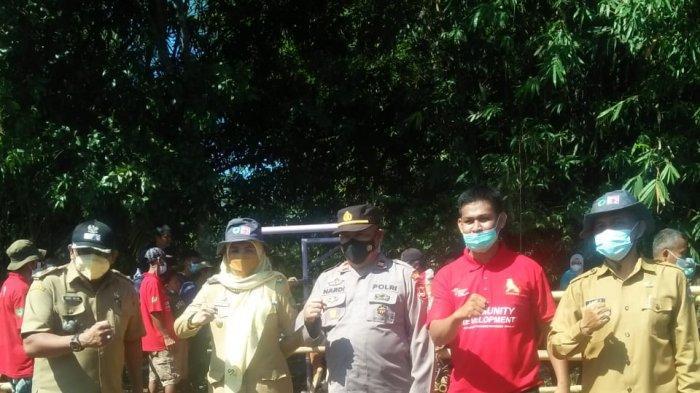 Kerjasama antara Dinas Pertanian Ketahanan Pangan Kabupaten Maros dengan Pemerintah Desa Pucak serta forum peternak yang ada di Dusun Bontosunggu.