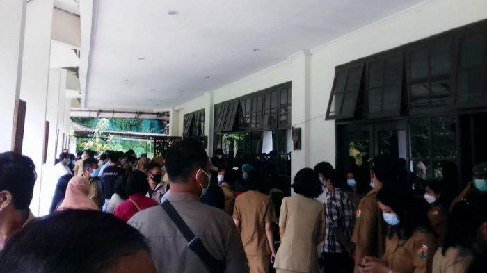 Vaksinasi Covid di Marante Toraja Utara Langgar Prokes, Jubir : Hanya Sesaat