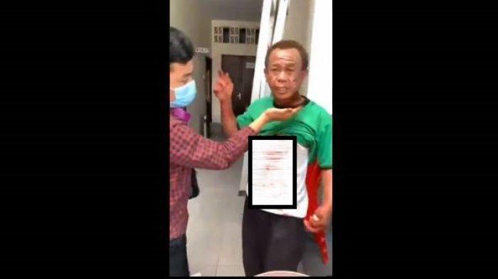 Kesaksian Cosmos Penjaga Gereja Katedral Makassar yang Cegah Pelaku Bom Bunuh Diri Masuk Parkiran (facebook)