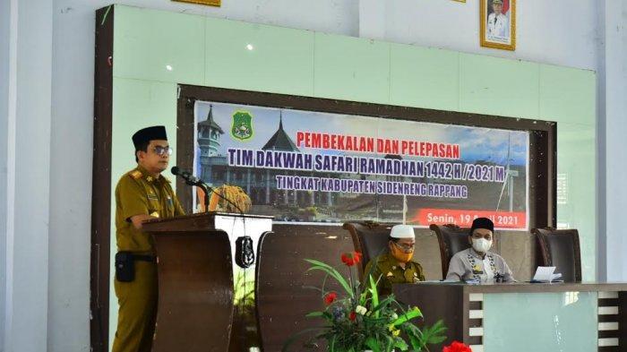 77 Mubaligh Gabung di Tim Dakwah Safari Ramadan Sidrap, Diminta Sampaikan Bahaya Paham Radikalisme