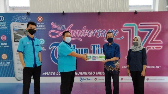 Kunjungi Tribun Timur, PT Indofood Makassar Kenalkan Inovasi Baru 'Pop Mie PaNas' Apa Itu?