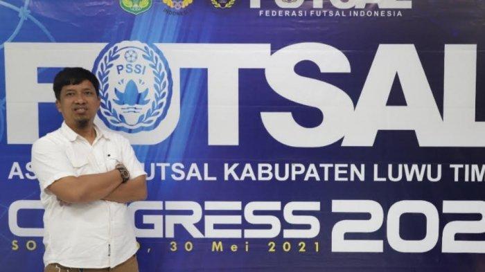Terpilih Aklamasi, Adhie Safaat Ketua Asosiasi Futsal Luwu Timur yang Baru