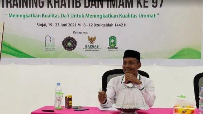 Baznas Sinjai Latih Calon Dai dan Imam Masjid