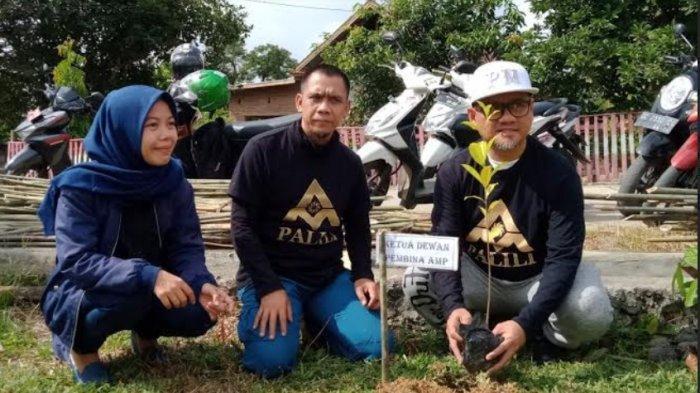 AMP Sulbar Ajak Puluhan Organisasi dan Komunitas Menanam 1.000 Pohon