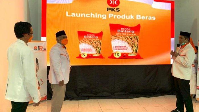 Dukung Kesejahteraan Petani, Amri Arsyid Luncurkan Beras Bintang 5 Kg dan 10 Kg Produk PKS Pinrang