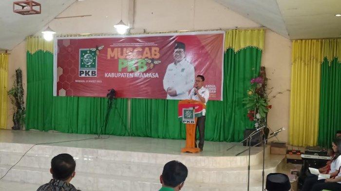 Muscab PKB, Wabup Mamasa Target 2024 Maju Jadi 01 di Pilkada