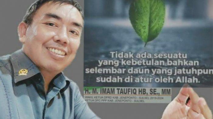 Ketua DPC PPP Jeneponto Dukung Imam Fauzan Maju Jadi Ketua PPP Sulsel