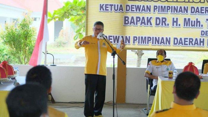 Wawali dan Ketua DPRD Perebutkan Kursi Ketua Golkar Palopo