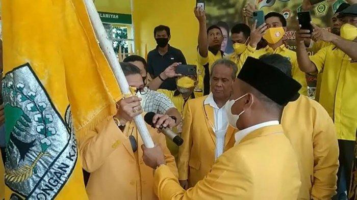 Golkar Palopo Dipimpin Rahmat Masri Bandaso, Taufan Pawe Ingin Nurhaenih Jabat Ketua Harian