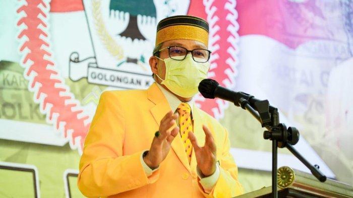 Survei Rendah, Taufan Pawe Perintahkan Kader Golkar Palopo Kampanyekan Airlangga Hartarto