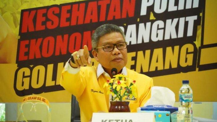 Wali Kota Parepare yang Juga Ketua Golkar Sulsel Taufan Pawe Positif Corona