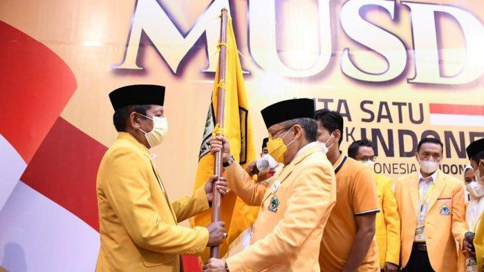 Andi Kaswadi Razak Pimpin Golkar Soppeng Periode Ketiga