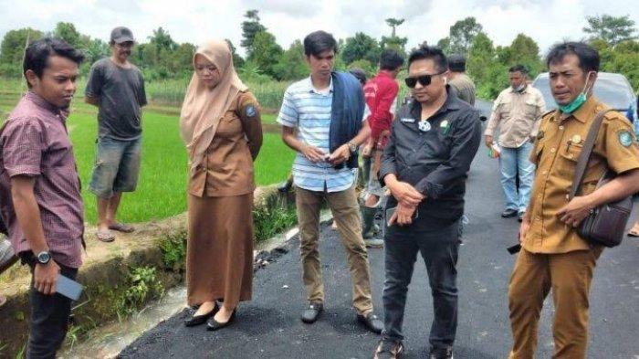 DPRD Bulukumba Nilai Proyek Jalan Borong Loe Timur Tidak Sesuai Spesifikasi