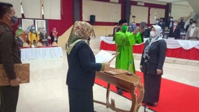 Hj Sri Nur Hayati Gantikan Musawir di DPRD Pasangkayu