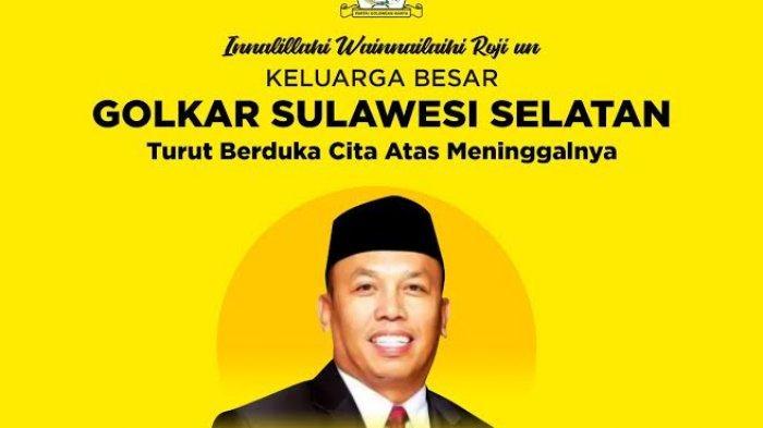 Ketua DPRD Luwu Timur Meninggal, Taufan Pawe: Selamat Jalan Sahabatku