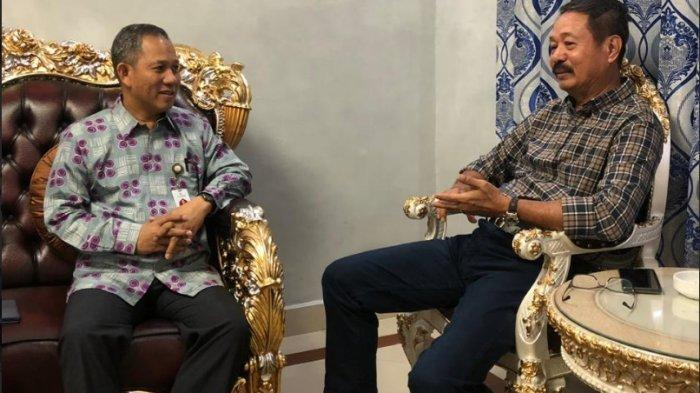 BERITA FOTO Ketua DPRD Makassar Jamu Opu Luthfi A Mutty dan Prof Yusran Yusuf - ketua-dprd-makassar-rudianto-lallo-menjamu-prof-yusran1.jpg