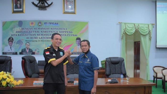 Syahruddin M Adam Terpilih Pimpin Asosiasi Futsal Kabupaten Soppeng