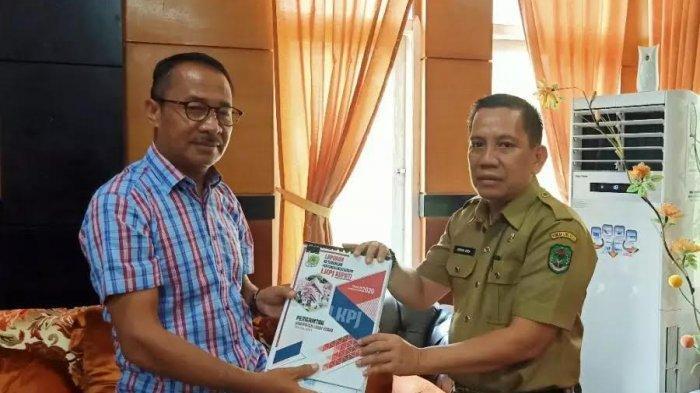 Ketua DPRD Luwu Utara Terima LKPJ Bupati