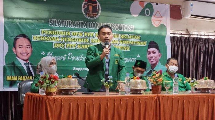 Aspirasi Kader, Imam Fauzan Pertimbangkan Andi Nurhidayati Pimpin PPP Soppeng
