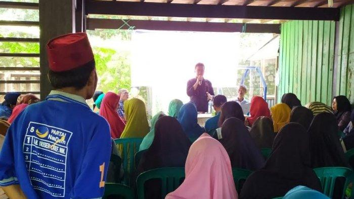 Ditemui Ketua Fraksi NasDem DPRD Parepare, Warga Curhat Bantuan Usaha Tak Tepat Sasaran