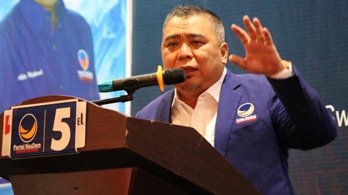 Ketua Fraksi Partai Nasdem DPR RI Ahmad Ali: Kami Dukung RUU Cipta Kerja