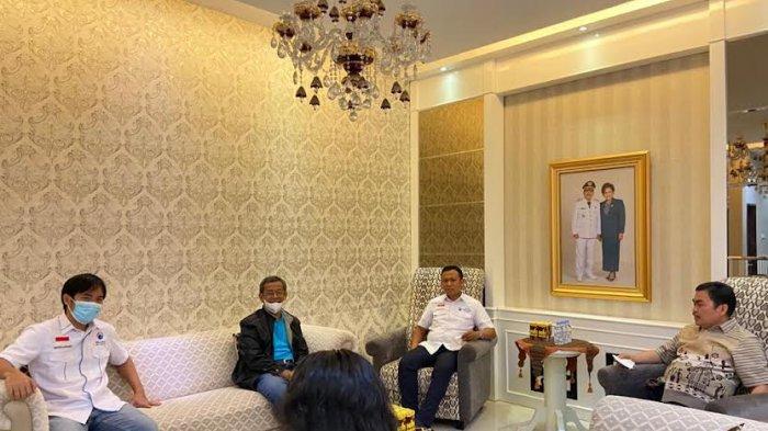 Ketua Gelora Sulsel Syamsari Kitta Sowan ke Theo-Zadrak
