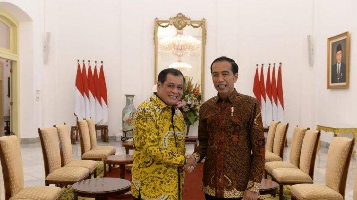Nurdin Halid Selamati Presiden Jokowi